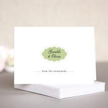 Luxe note cards & envelopes