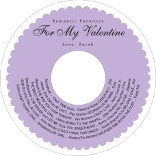 Luxe cd labels