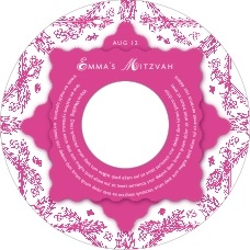 Love Cd Label In Bright Pink