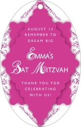 Love bar/bat mitzvah tags
