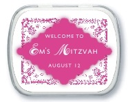 Love bar mitzvah mint tins