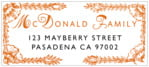 Love designer address labels