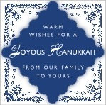 Love hanukkah labels