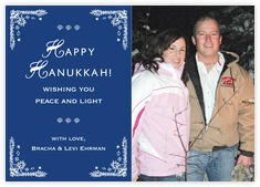 Love Photo Cards - Horizontal In Deep Blue