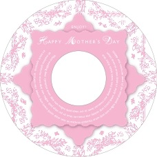 Love mother's day CD/DVD labels