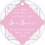 Love mother's day gift tags