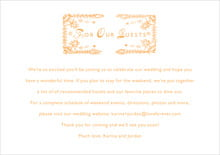 custom enclosure cards - melon - love (set of 10)