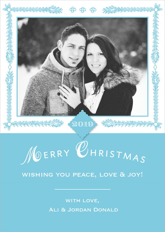 holiday cards - sky - love (set of 10)