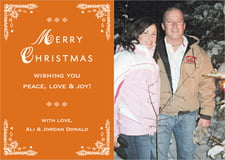 holiday cards - spice - love (set of 10)