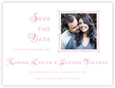 Love save the date cards