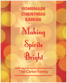 Merry & Bright large labels