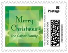 Merry & Bright small postage stamps