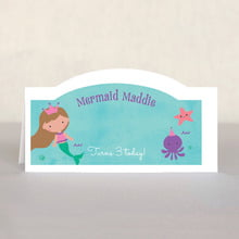 Mermaid place cards