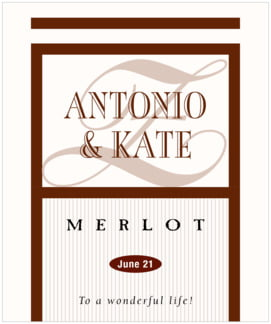 Metropolitan large labels