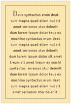Metropolitan text labels