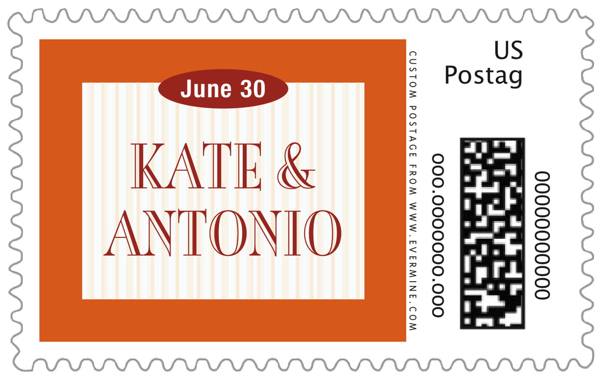custom large postage stamps - spice - metropolitan (set of 20)