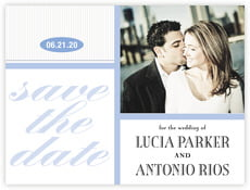 Metropolitan save the date cards