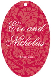 Magnolia large oval hang tags