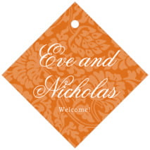 Magnolia diamond hang tags