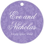 Magnolia circle hang tags