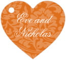 Magnolia heart hang tags