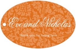 Magnolia wide oval hang tags