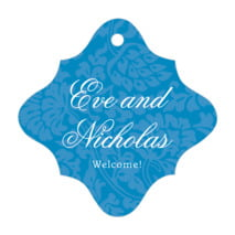 Magnolia fancy diamond hang tags