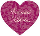 Magnolia heart labels