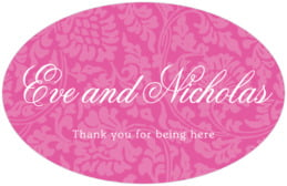 Magnolia large oval labels
