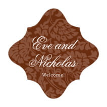 Magnolia fancy diamond labels