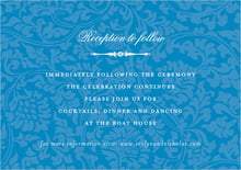 custom enclosure cards - blue - magnolia (set of 10)