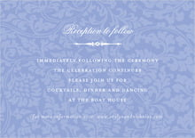 custom enclosure cards - periwinkle - magnolia (set of 10)