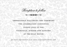 custom enclosure cards - tuxedo - magnolia (set of 10)