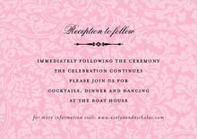 custom enclosure cards - pale pink - magnolia (set of 10)