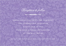 custom enclosure cards - lilac - magnolia (set of 10)