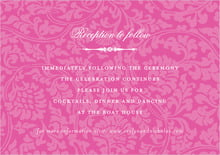 custom enclosure cards - bright pink - magnolia (set of 10)