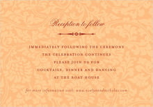 custom enclosure cards - tangerine - magnolia (set of 10)