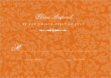 custom response cards - spice - magnolia (set of 10)