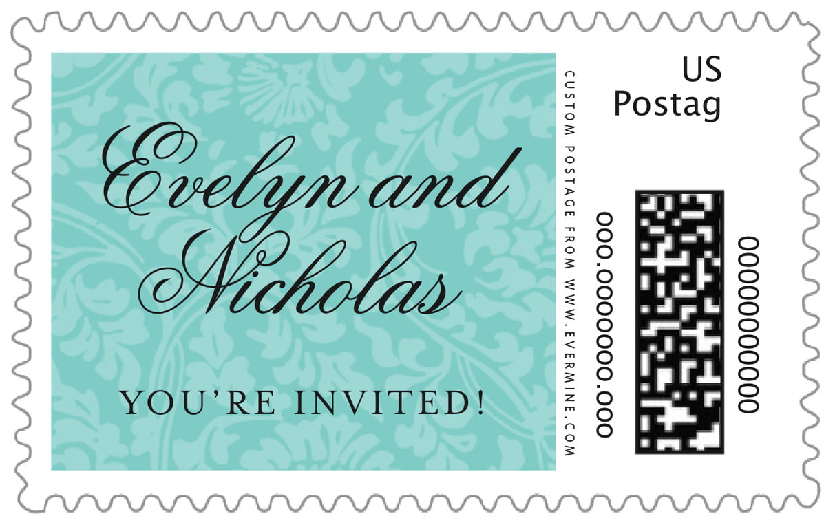 custom large postage stamps - aruba - magnolia (set of 20)