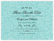 Magnolia save the date cards