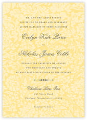 Magnolia invitations