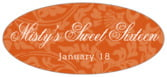 Magnolia oval labels