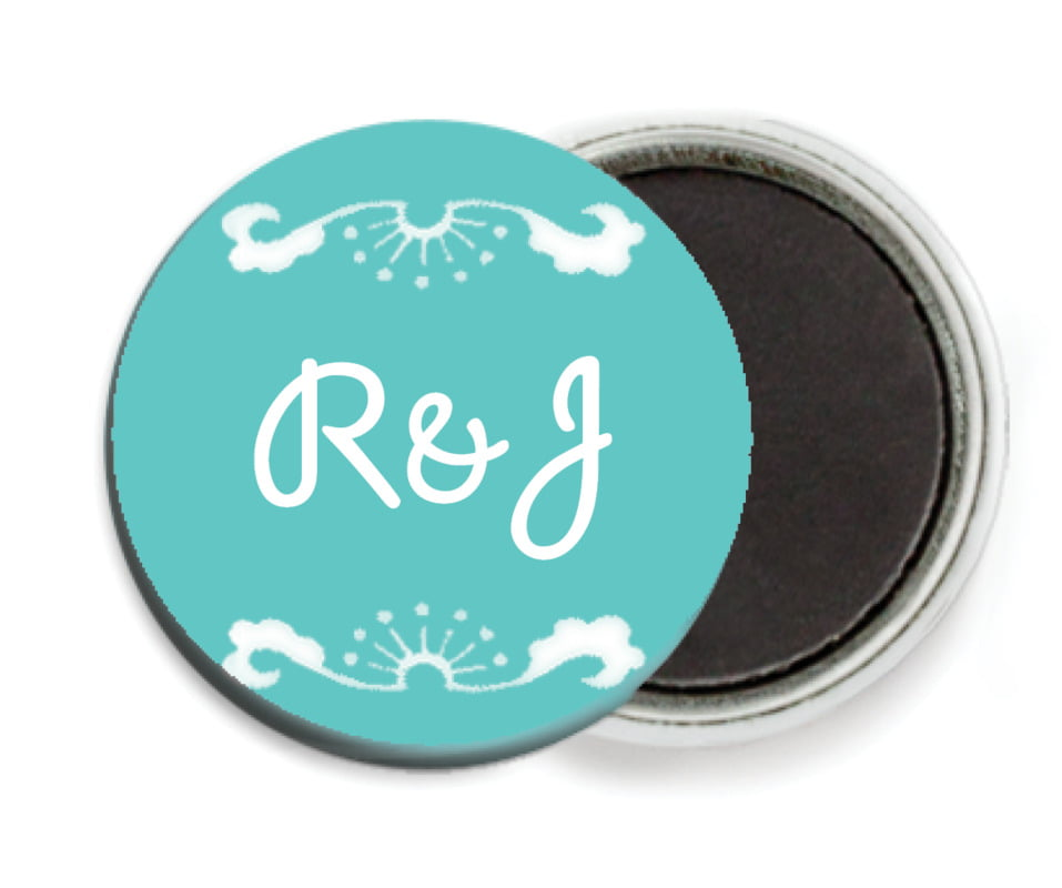 custom button magnets - aruba - mai li (set of 6)