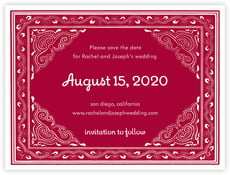 Mai Li save the date cards