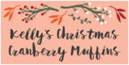 Merry Berries rectangle labels