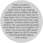 Merry Berries circle text labels