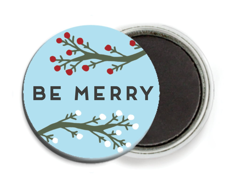 custom button magnets - sky - merry berries (set of 6)