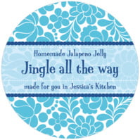 Mele Kalikimaka small canning jar toppers