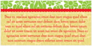 Mele Kalikimaka rectangle text labels