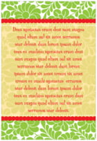 Mele Kalikimaka text labels